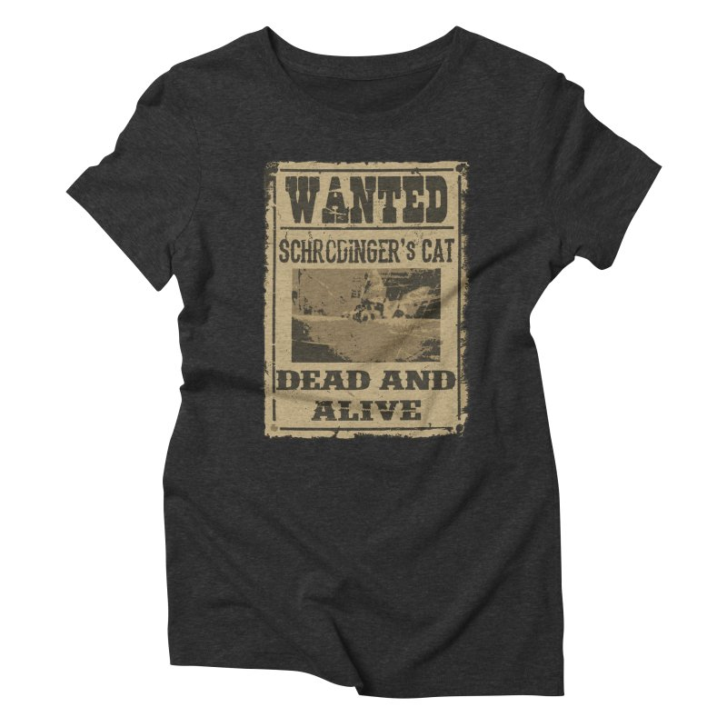 Dead And Alive Women's Triblend T-Shirt by John Lucke Designs