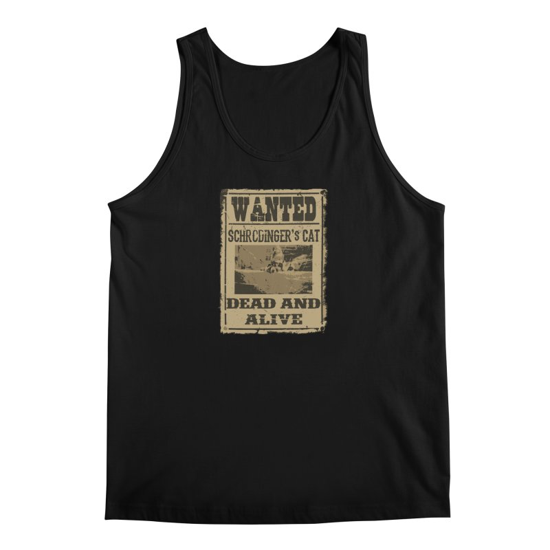 Dead And Alive Men's Tank by John Lucke Designs