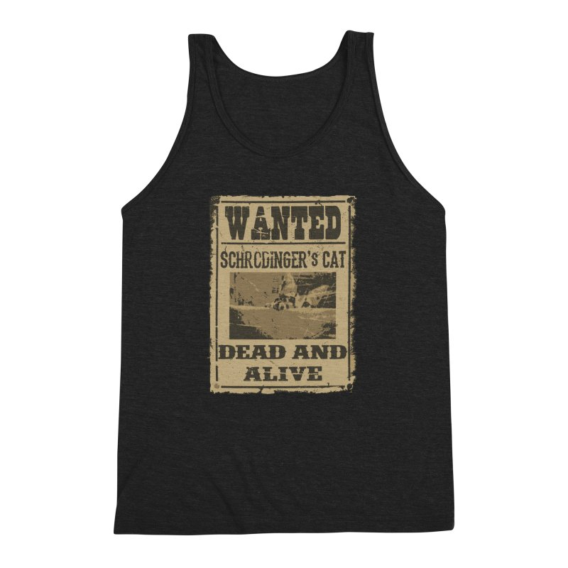 Dead And Alive Men's Triblend Tank by John Lucke Designs