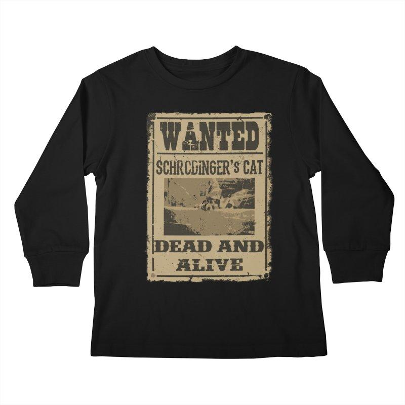 Dead And Alive Kids Longsleeve T-Shirt by John Lucke Designs