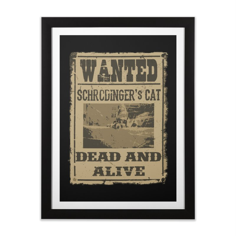 Dead And Alive Home Framed Fine Art Print by John Lucke Designs