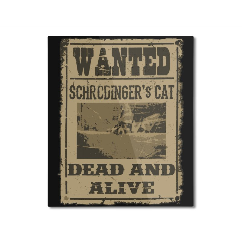 Dead And Alive Home Mounted Aluminum Print by John Lucke Designs