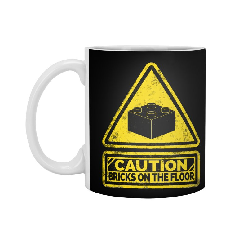 Watch Your Steps Accessories Mug by John Lucke Designs