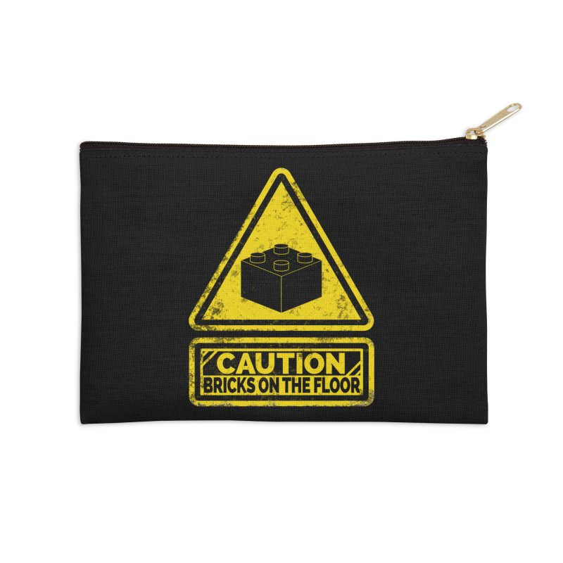 Watch Your Steps Accessories Zip Pouch by John Lucke Designs