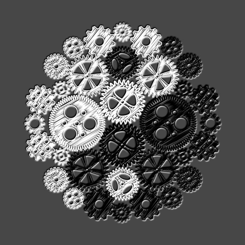 Gears Yin/Yang by John Lucke Designs