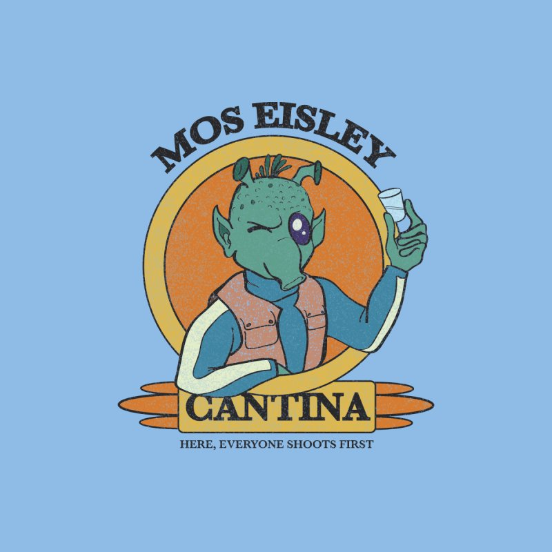 Greedo Cantina Women's T-Shirt by Lucky Dog studios