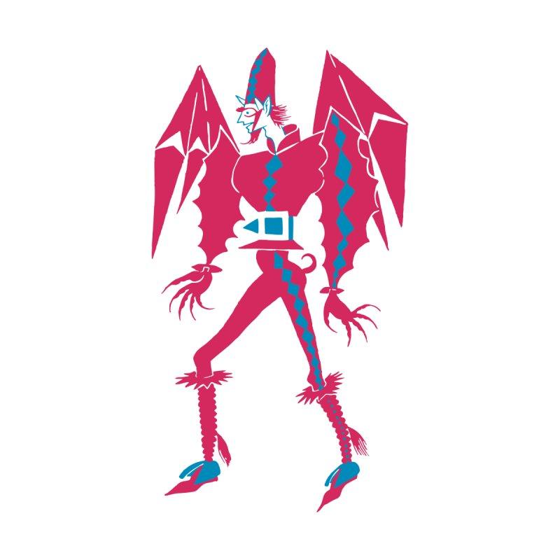 Carnival Devil Men's T-Shirt by Lucky's Gift