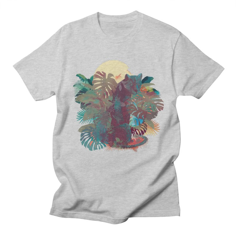 Panther Square Men's T-shirt by ludovicjacqz's Artist Shop