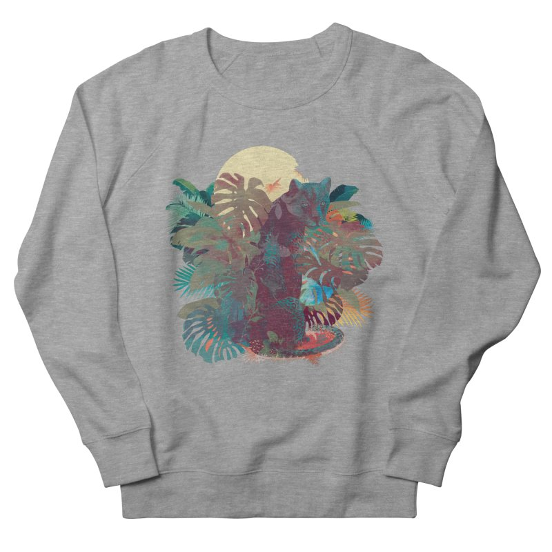 Panther Square Men's Sweatshirt by ludovicjacqz's Artist Shop