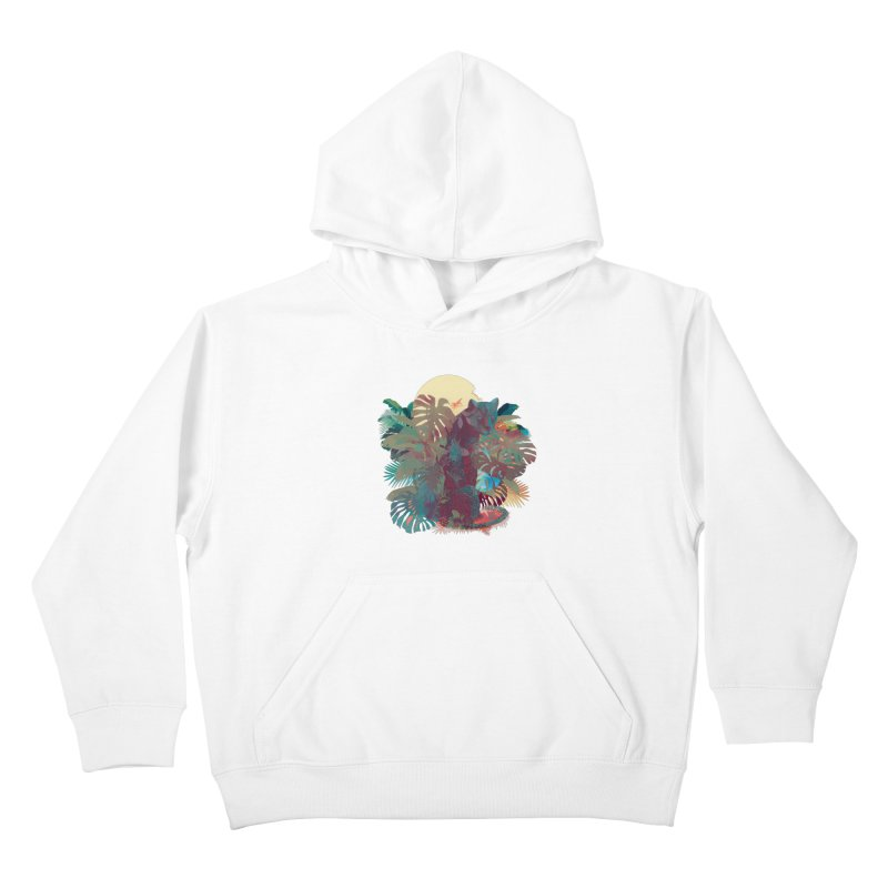 Panther Square Kids Pullover Hoody by ludovicjacqz's Artist Shop