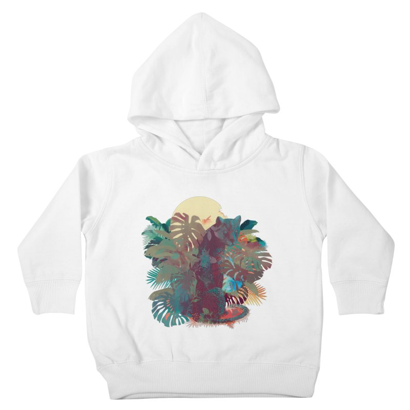 Panther Square Kids Toddler Pullover Hoody by ludovicjacqz's Artist Shop