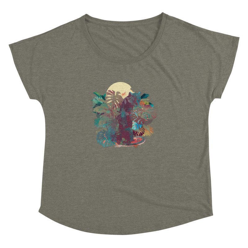 Panther Square Women's Dolman by ludovicjacqz's Artist Shop