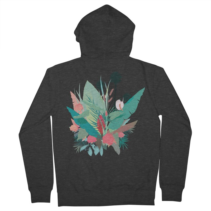 Palm Spings Women's Zip-Up Hoody by ludovicjacqz's Artist Shop