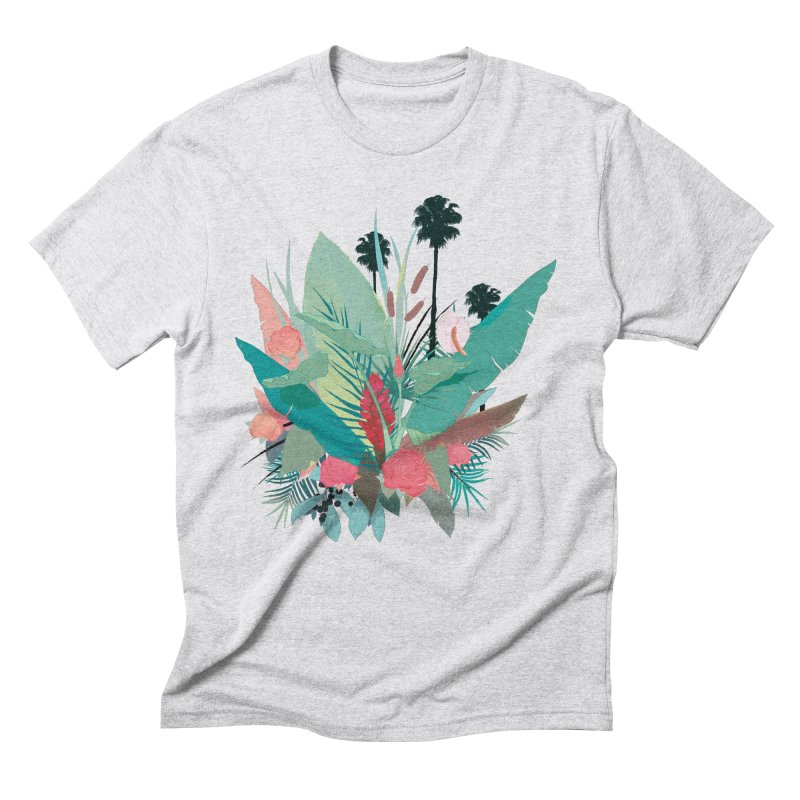 Palm Spings Men's Triblend T-Shirt by ludovicjacqz's Artist Shop