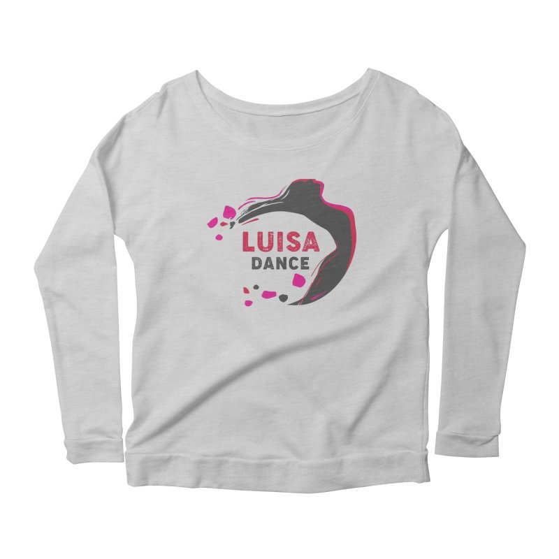Long Sleeve Scoop Neck Women's Longsleeve T-Shirt by Luisa Dance Merch