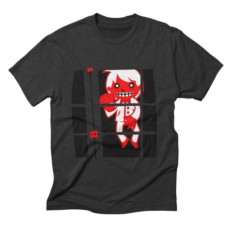 Let me in. Men's Triblend T-shirt by luisd's Artist Shop