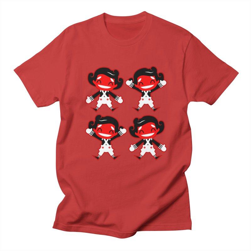 Oompa Loompas. Men's T-Shirt by luisd's Artist Shop