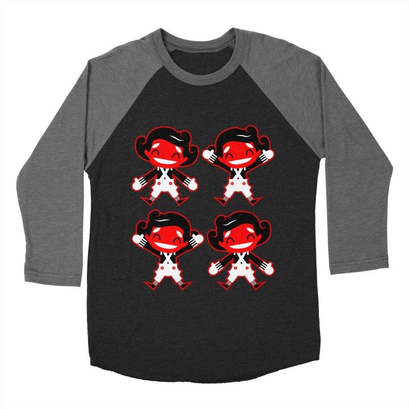 Oompa Loompas. Men's Baseball Triblend T-Shirt by luisd's Artist Shop