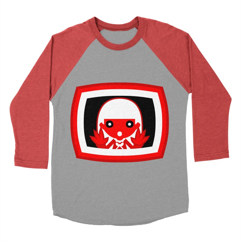 Poltergeist. Men's Baseball Triblend T-Shirt by luisd's Artist Shop