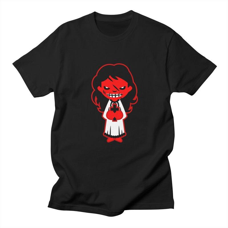The exorcist. Men's T-Shirt by luisd's Artist Shop