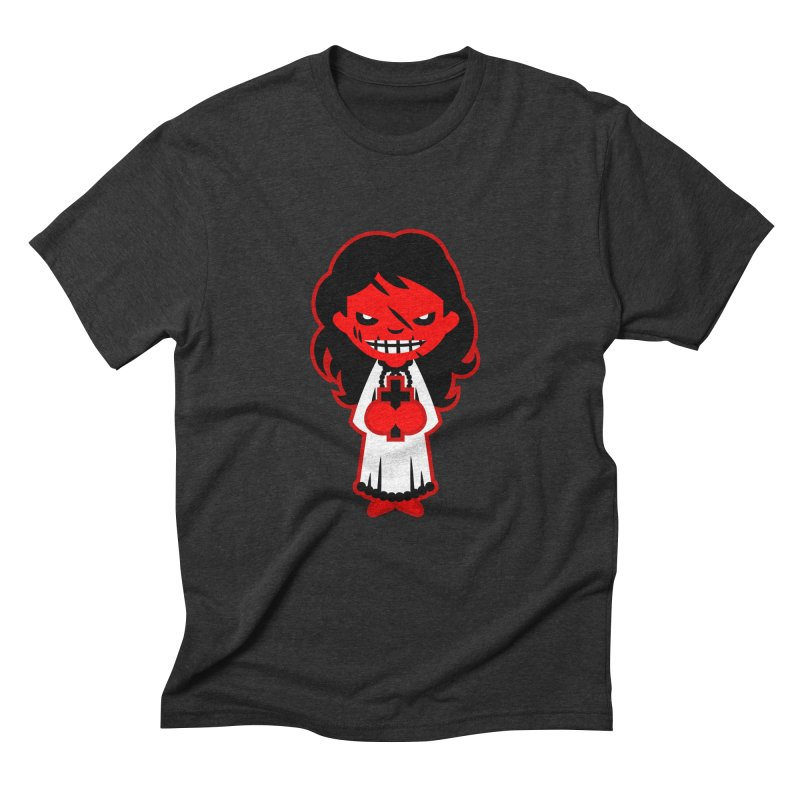 The exorcist. Men's Triblend T-Shirt by luisd's Artist Shop