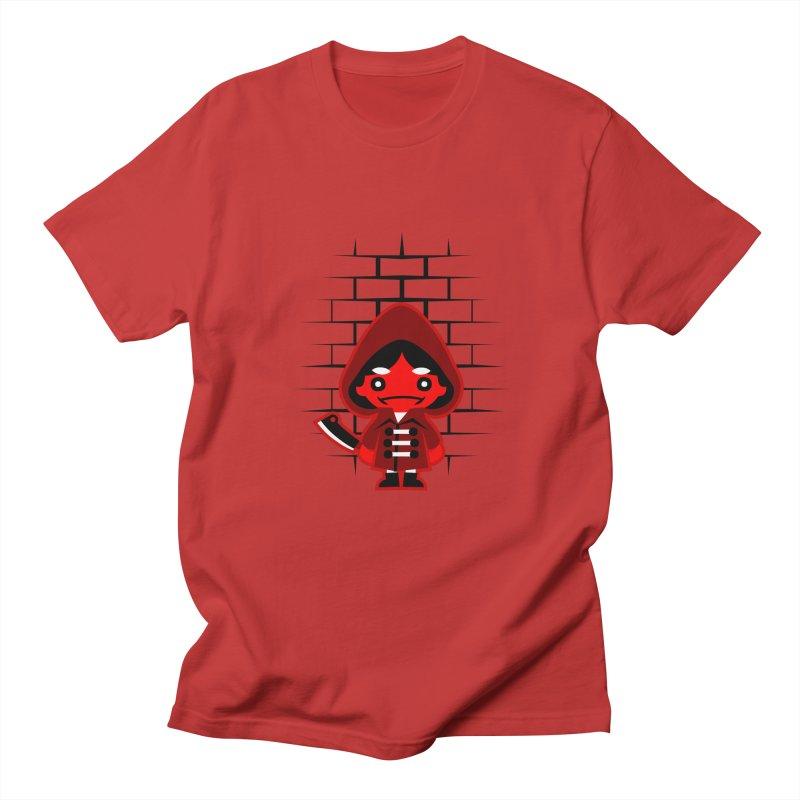 Don't Look Now. Men's T-shirt by luisd's Artist Shop