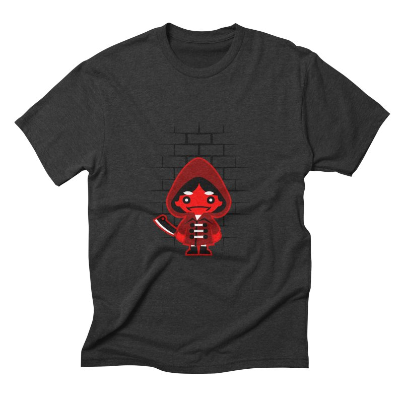 Don't Look Now. Men's Triblend T-Shirt by luisd's Artist Shop