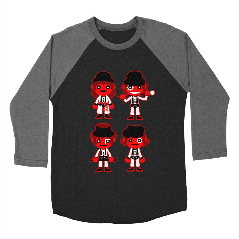 A Clockwork Orange. Men's Baseball Triblend T-Shirt by luisd's Artist Shop
