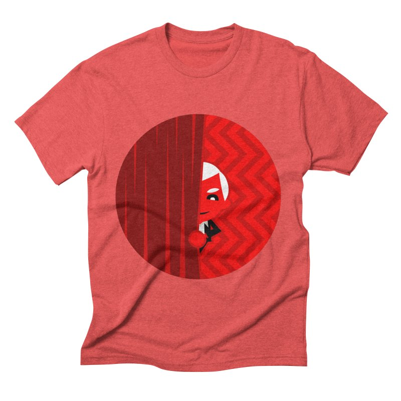 Twin Peaks. Men's Triblend T-shirt by luisd's Artist Shop