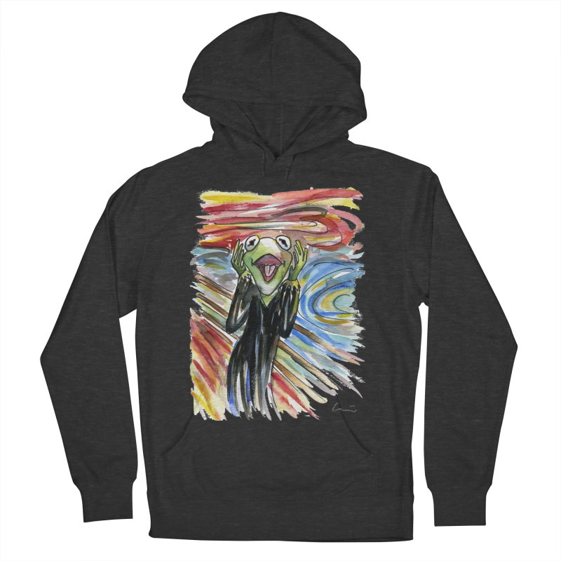 """The shout"" Women's Pullover Hoody by luisquintano's Artist Shop"