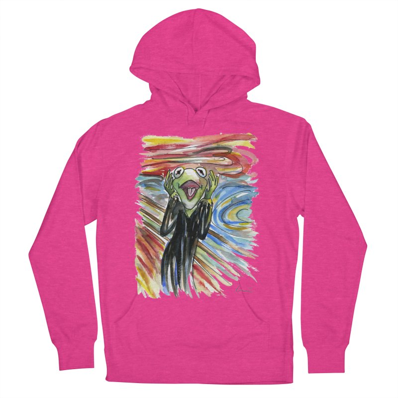 """""""The shout"""" Women's Pullover Hoody by luisquintano's Artist Shop"""