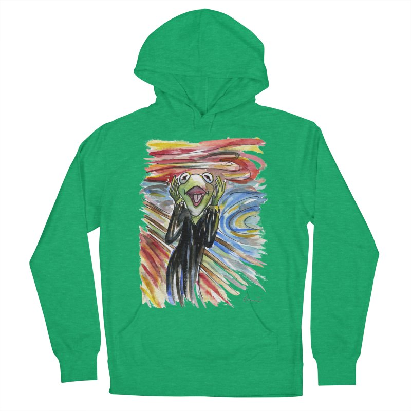 """""""The shout"""" Men's Pullover Hoody by luisquintano's Artist Shop"""