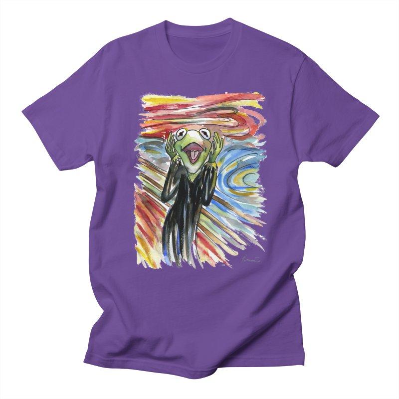 """""""The shout"""" Men's T-Shirt by luisquintano's Artist Shop"""