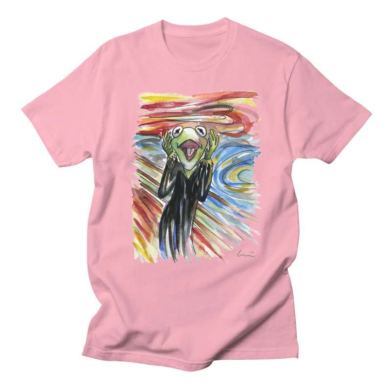 """The shout"" Women's Unisex T-Shirt by luisquintano's Artist Shop"