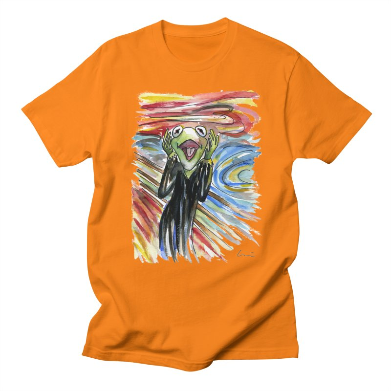 """The shout"" Men's T-Shirt by luisquintano's Artist Shop"