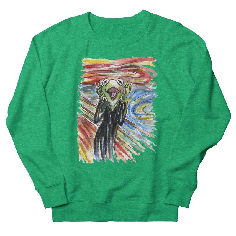 """The shout"" Women's Sweatshirt by luisquintano's Artist Shop"