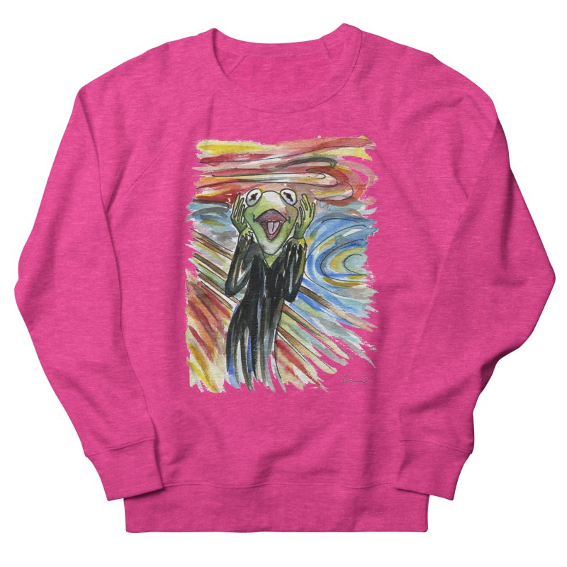 """The shout"" Women's Sweatshirt by luisquintano's Artist Shop"