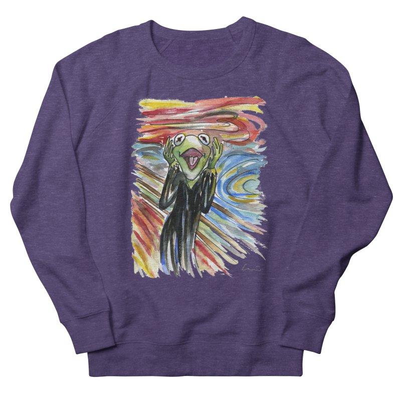 """The shout"" Men's Sweatshirt by luisquintano's Artist Shop"