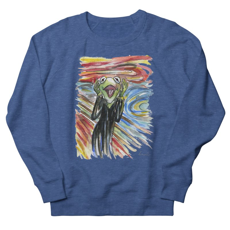 """The shout"" Men's Sweatshirt by luisquintano's Artist Shop"