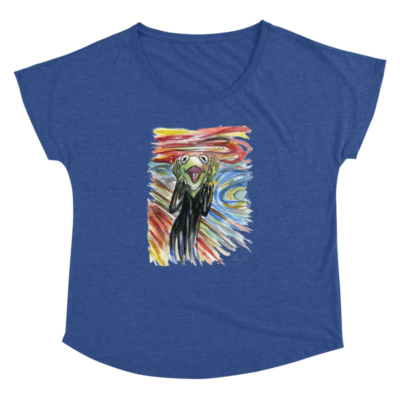 """The shout"" Women's Dolman by luisquintano's Artist Shop"