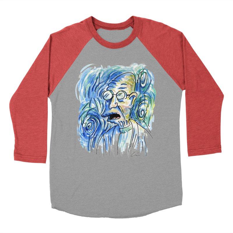 Vincent Van Hubert Men's Baseball Triblend T-Shirt by luisquintano's Artist Shop