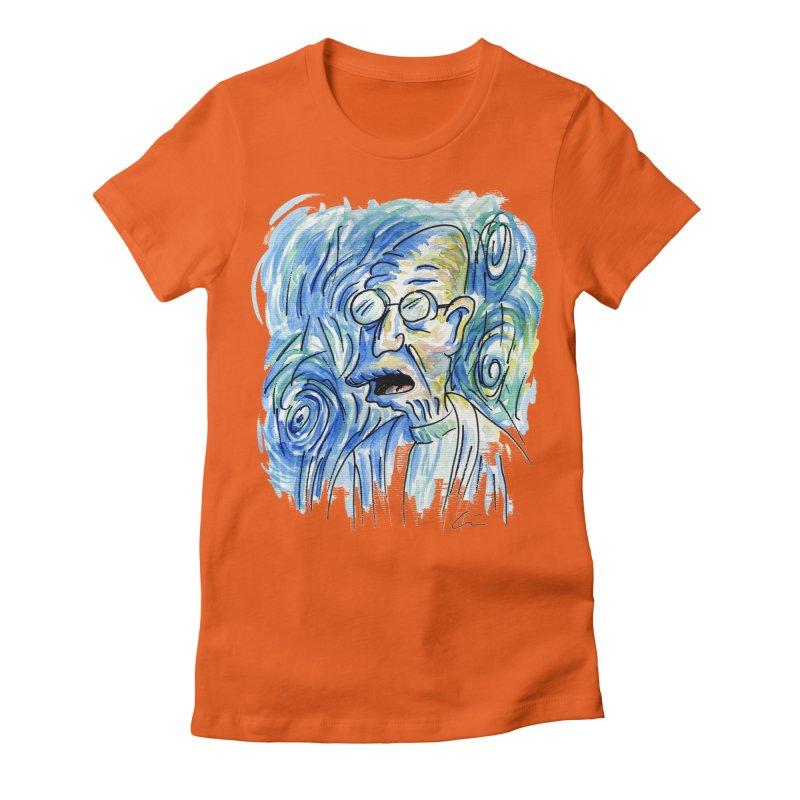 Vincent Van Hubert Women's Fitted T-Shirt by luisquintano's Artist Shop