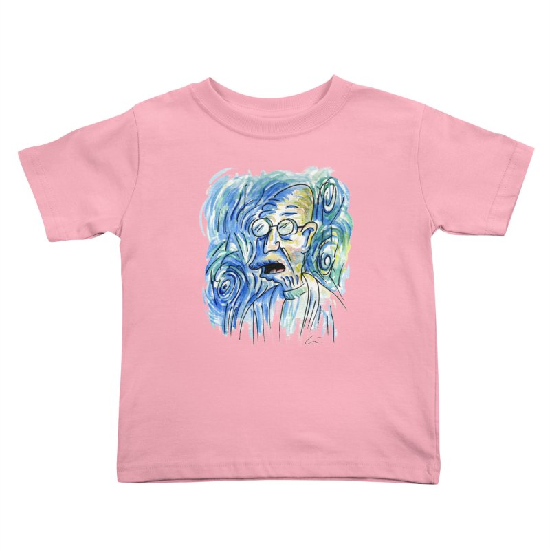 Vincent Van Hubert Kids Toddler T-Shirt by luisquintano's Artist Shop