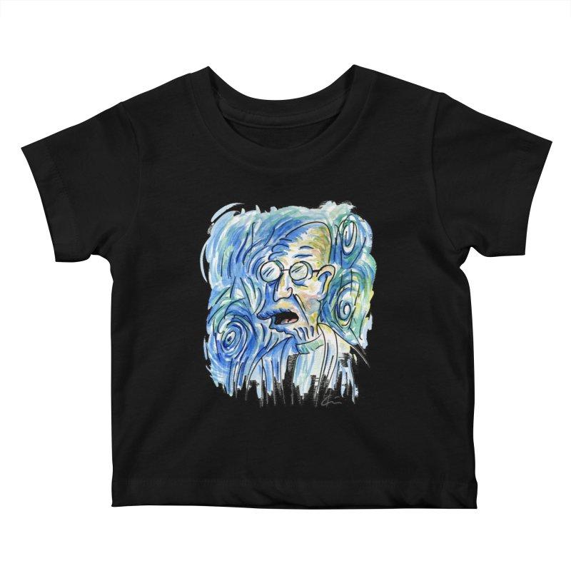 Vincent Van Hubert Kids Baby T-Shirt by luisquintano's Artist Shop