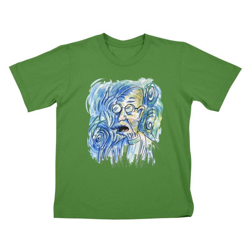 Vincent Van Hubert Kids T-Shirt by luisquintano's Artist Shop