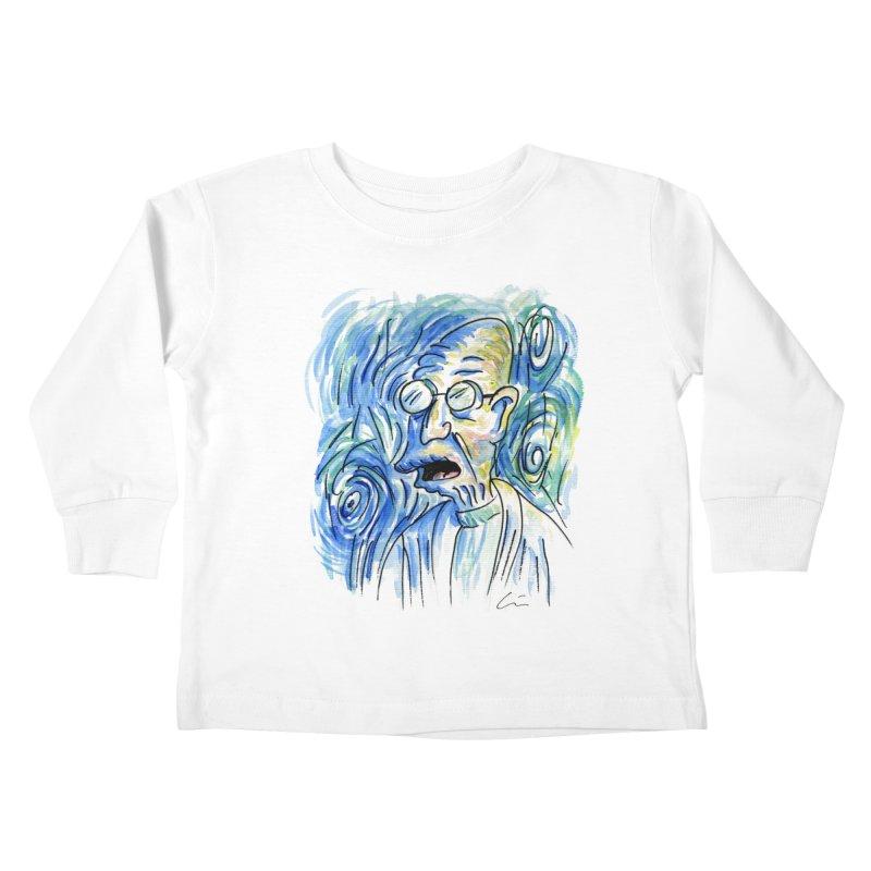 Vincent Van Hubert Kids Toddler Longsleeve T-Shirt by luisquintano's Artist Shop