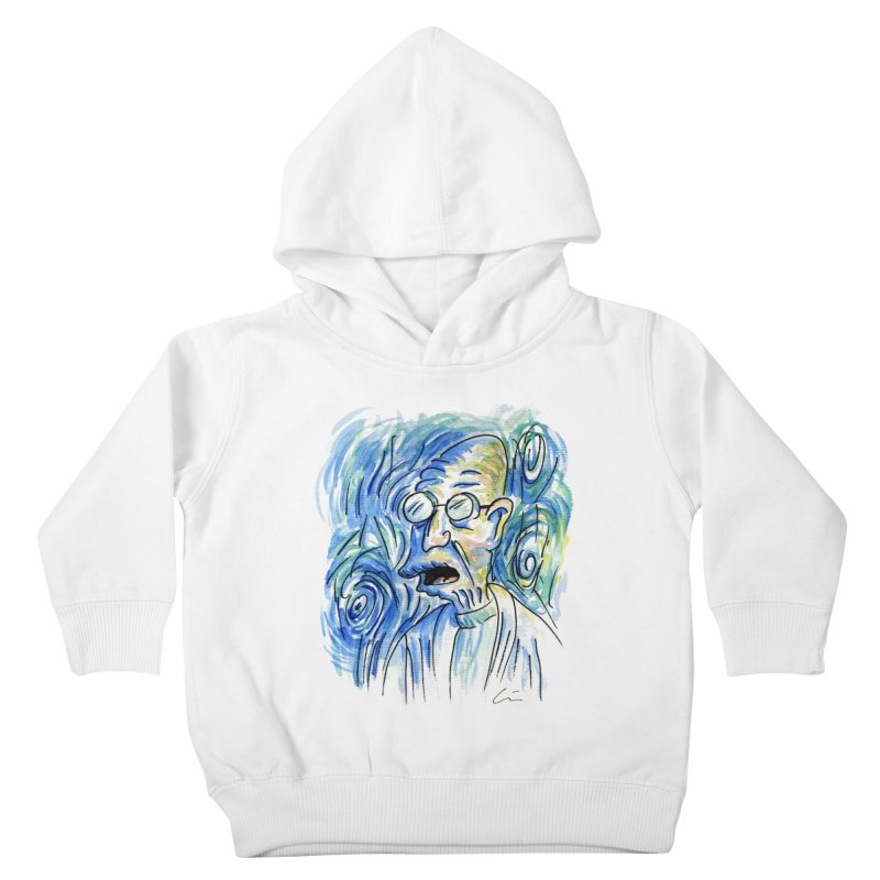 Vincent Van Hubert Kids Toddler Pullover Hoody by luisquintano's Artist Shop