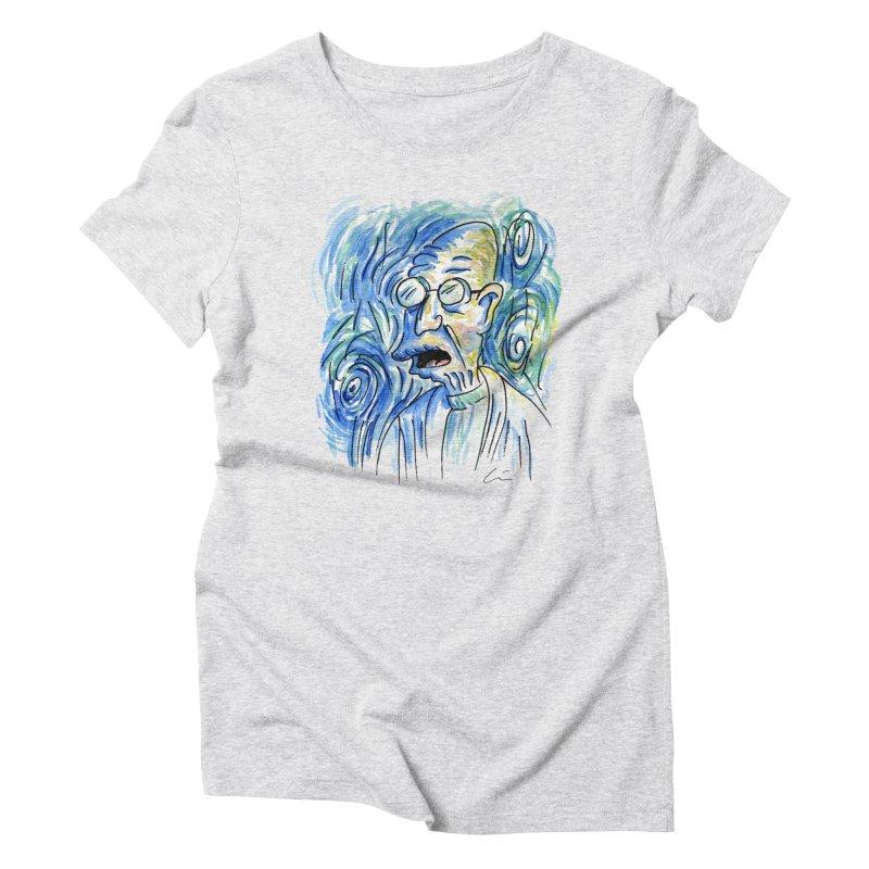 Vincent Van Hubert Women's Triblend T-Shirt by luisquintano's Artist Shop