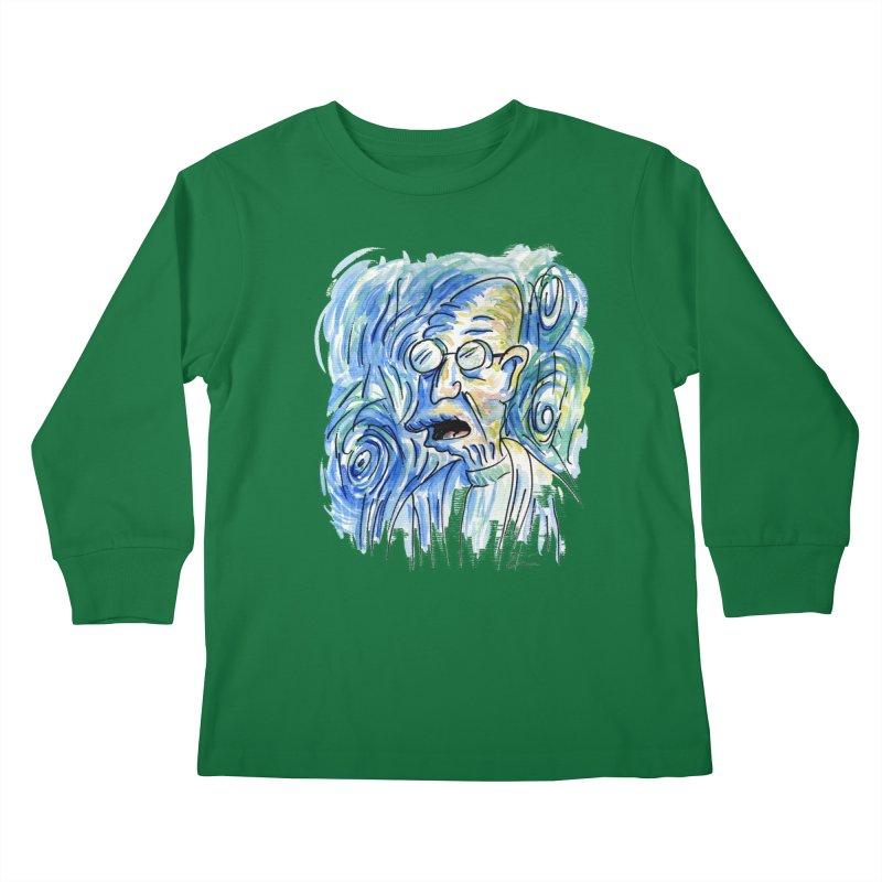 Vincent Van Hubert Kids Longsleeve T-Shirt by luisquintano's Artist Shop