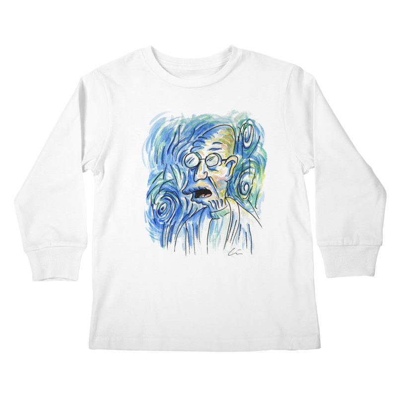 Vincent Van Hubert Kids Longsleeve T-Shirt by luisquintano's Artist Shop